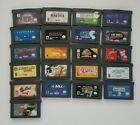 Gameboy Advance GBA Games Carts Authentic Tested Free Shipping