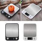Electronic Scales Stainless Steel Digital Kitchen Food Cooking Weighing