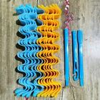 Beautiful Hair Styling Waves Kit Hairstyle Curler Roller Women Curly Hair 12PCS