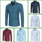 Long Sleeve Floral Luxury Casual Top Slim Fit Shirt Dress Shirts Mens Stylish