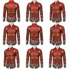 Top Slim Fit Shirt Formal Stylish T Shirt Mens Luxury New Blouse Casual