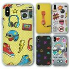 For Iphone Xs Max Silicone Case Cover Retro Group 2