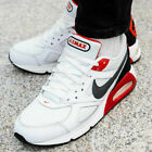 Nike Air Max Ivo Men's Trainers Shoes White/Habanero Red/Black/Dark Grey