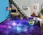 3D Purple Galaxy 156 Floor WallPaper Murals Wall Print Decal UK Zoe