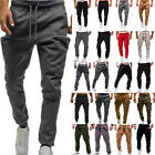 Mens Sport Pants Slim Fit Tracksuit Bottoms Gym Joggers Long Trousers Sweatpants