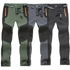 Men's Hiking Pants Winter Outdoor Combat Cargo Trousers Climbing Walking Pants