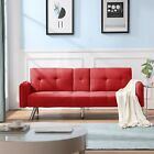 Upholstery Convertible Sofa Bed Lounge Recliner Couch Living Room Sofa 74.8'' L