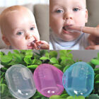 Soft Rubber Tooth Massager Brush Silicone Finger Toothbrush For Infant Baby,Kids