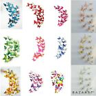 3d Butterfly Wall Stickers Home Decor Room Decoration Sticker Bedroom 12pcs