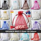 3 Size Organza Bag Jewellery Wedding Candy Gift Favour Bags Aus