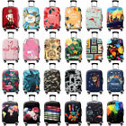 "Внешний вид - Printed Travel Luggage Cover Protector Elastic Suitcase Bag Dust-proof 18"" -32"""