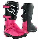 Fox Racing Youth Comp Boot (Pink) - Buckle - 27689
