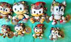 New Sonic The Hedgehog Sticker Bomb Big Head Toy Factory Plush Sega Doll Figure