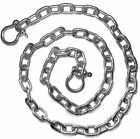 "3/16"" by 4' - 20' Stainless Steel 316 Anchor Chain 3/16"" with 1/4"" Bow Shackles"