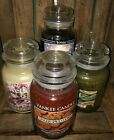 YANKEE CANDLE 22 OZ LARGE JAR - RETIRED SCENTS AND LABELS - YOU CHOOSE