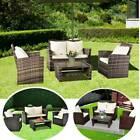 Rattan Garden Furniture Set Chairs Lounge Sofa Table Outdoor Dining Bench Patio
