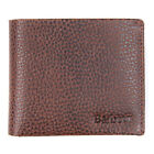 Barbour Laddon Billfold Wallet Brown - SALE