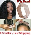 Wig Grip Adjustable HeadBand Velvet Elastic Comfort Fastern Wig Band
