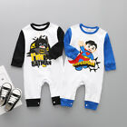Newborn Baby Kids Boys Infant Fashion Romper Jumpsuit Bodysuit Cotton Clothes