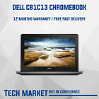 """Refurbished 11.6"""" Dell Cb1c13 Chromebook With Chrome Os Webcam Hdmi Notebook"""