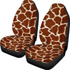 Seat Car Covers Front Protector 2 Pack Breathable Auto Universal Print Fabric US