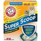 Super Scoop Clumping Litter Fragrance Free Super Absorbent Moisture Multi Lbs