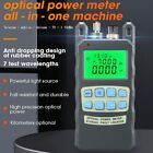 AUA-80A All-IN-ONE Optical Power Meter Visual Fault Locator Optical Fiber Tester