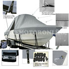 Cape Craft 21 V Skiff Center Console T-Top Hard-Top Fishing Boat Storage Cover
