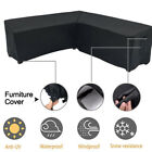 Dustproof Anti Uv Practical Outdoor Garden Sofa Furniture Cover Couch V Shaped