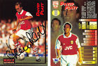 MERLIN ULTIMATE SIGNED FOOTBALL CARDS FROM 1994/95