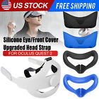Adjustable Head Strap Front Cover Face Cushion Pad for Oculus Quest 2 VR Headset