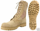 Lug Sole G.I. Type Desert Tan Boot -Just Wide Sizes