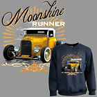 * Sweatshirt Oldtimer Hot Rod Pullover Vintage Custom Roadster Car Auto *1284