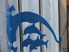 Dolphin PLANT HANGER Hanging Hook Metal Patio Yard Fish