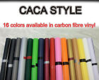 Carbon Fiber Vinyl Sticker Sheet Wallpaper 1270mm*300mm