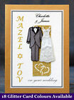 PERSONALISED Mazel Tov Jewish Wedding Card +18 Options Q1GBG
