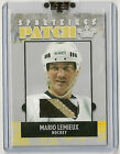 Mario Lemieux 2007 SportKings Series A 3 color GU Patch /20  PITTSBURGH PINGUINS