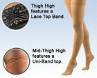 Activa Compression Thigh 20-30 mmHg Supports Stockings Top Silicone Band