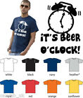 Its beer o clock time T Shirt stag Party Funny s - 2xl various colours