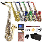 Mendini by Cecilio Alto Saxophone Sax +Chromatic Tuner, First Lesson Book/CD