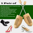 1Pair Natural Samak Spring Shoe Trees Stretcher Shaper Mans Womens free shipping