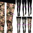 Soft Lace Gauze Women Rock Punk Funky Sexy See Through Leggings Pants