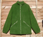 UK BRITISH ARMY SURPLUS OLIVE GREEN THERMAL FLEECE JACKET GRADE 1-MID LAYER/ECW