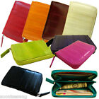 Genuine Eel Skin Coin Purse, Credit Card Wallet, Zippered Wallet