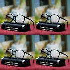 NEW MENS 70'S 80'S EYEGLASSES RETRO ROUND VINTAGE SIMPLE DESIGN COOL CLEAR LENS
