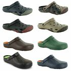 New Mens Garden Kitchen EVA Beach Trekker Hospital Clogs Size UK 7 8 9 10 11 12