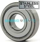 BEARINGS SIZES 603 - 629 ZZ STAINLESS STEEL
