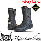 DAYTONA ROADSTAR GTX LEATHER GORETEX GORE TEX MOTORCYCLE TOURING BOOTS