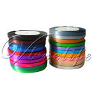 "10 Rolls Of 25Yards 1/4"" 6mm Satin Ribbon Bow Wedding Party Supply Many Colours"