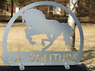 Horse MAILBOX TOPPER Address Plaque Personalized Equine Pony Pet Farm Ranch